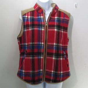 😍Entro women's Plaid Vest Size MED